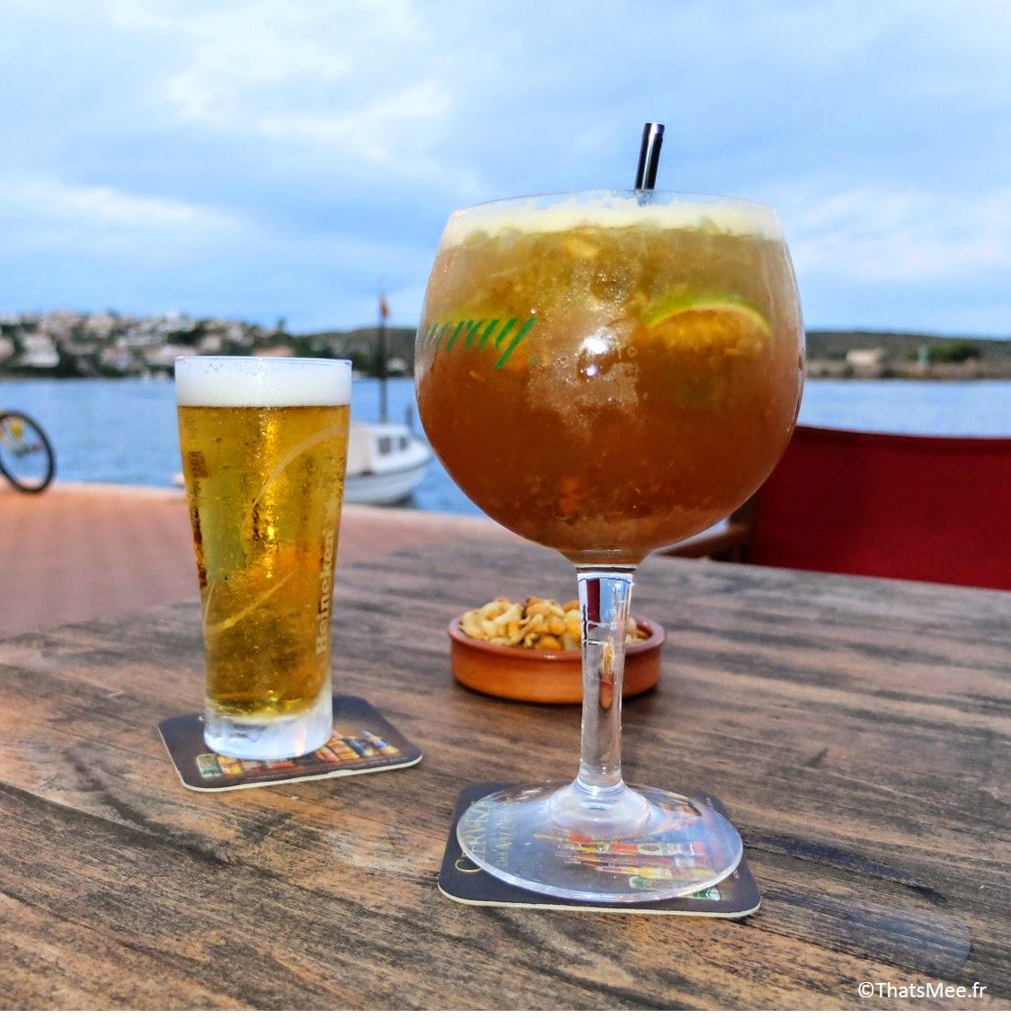 cocktails géants pas chers Minorque bonnes adresses bar Pindapoi Menorca Baleares (c)ThatsMee.fr