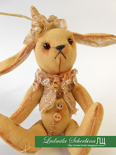 Мастер-класс по изготовлению мягкой игрушки Заяц
