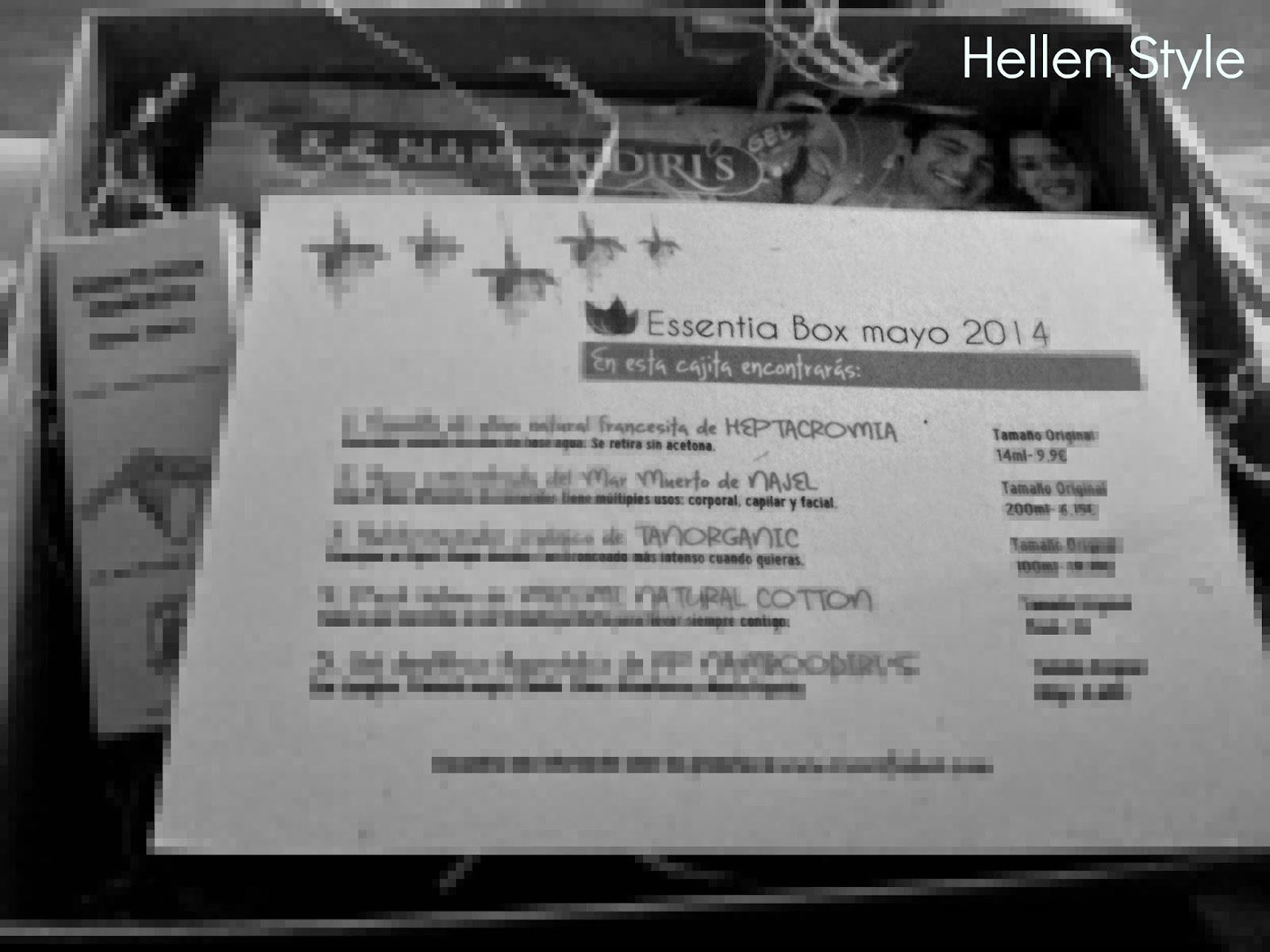 Essentia box mayo 2014