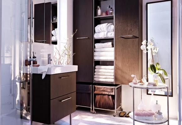 Espacio para guardar cosas en las diferentes habitaciones