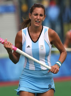 Argentine Hockey Player Luciana Aymar