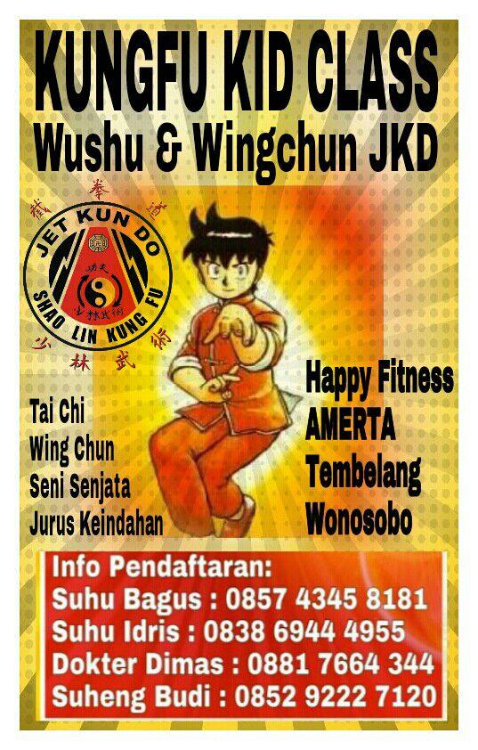 Pendaftaran Wing Chun Wonosobo