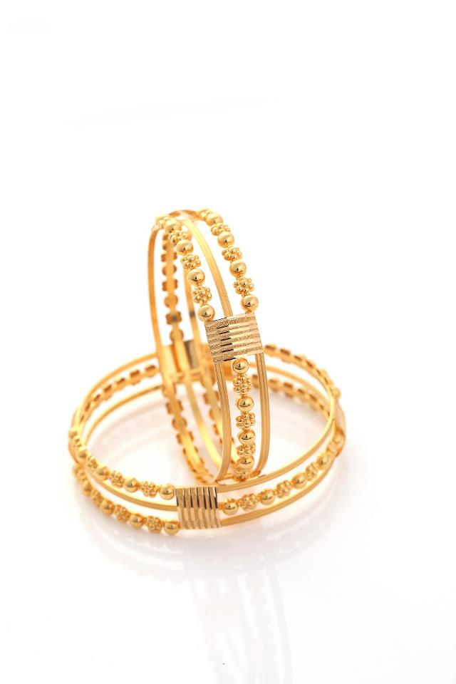 Beautiful diamond and gold bangles from NAC jewellers ...