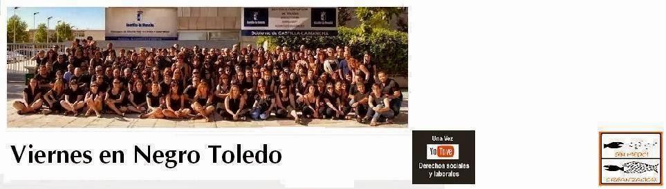 Viernes en negro en Toledo