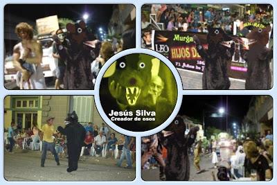 Osos en carnaval de Melo