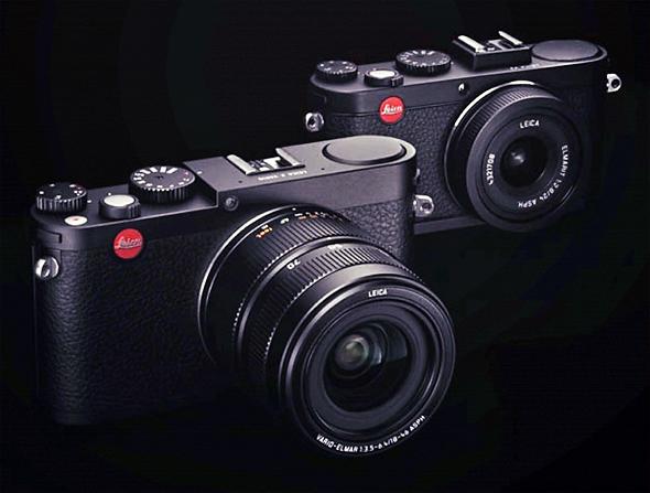 Fotografia della Leica Mini M e della Leica X2
