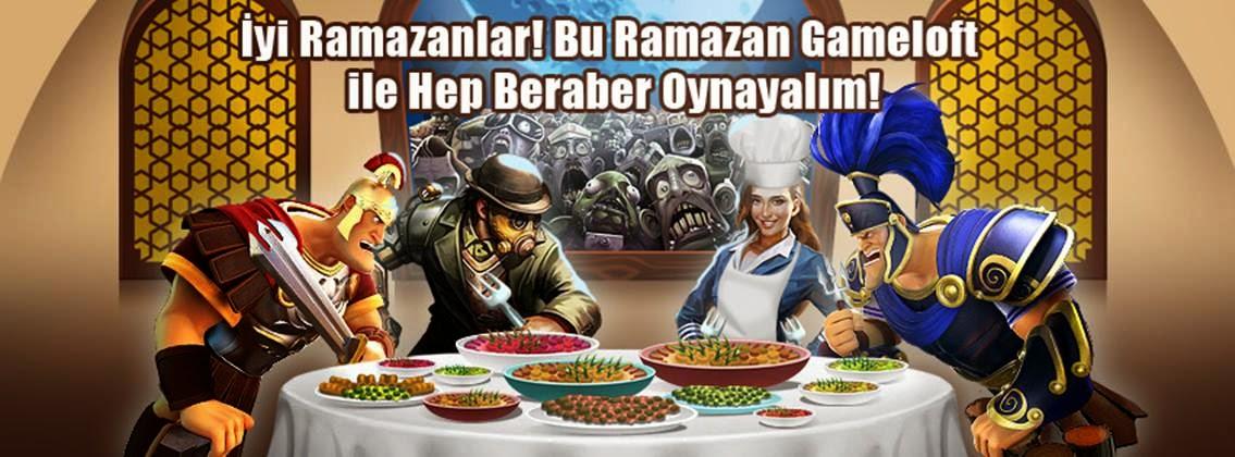 Gameloft'tan Türkiye İçin Ramazan İndirimleri