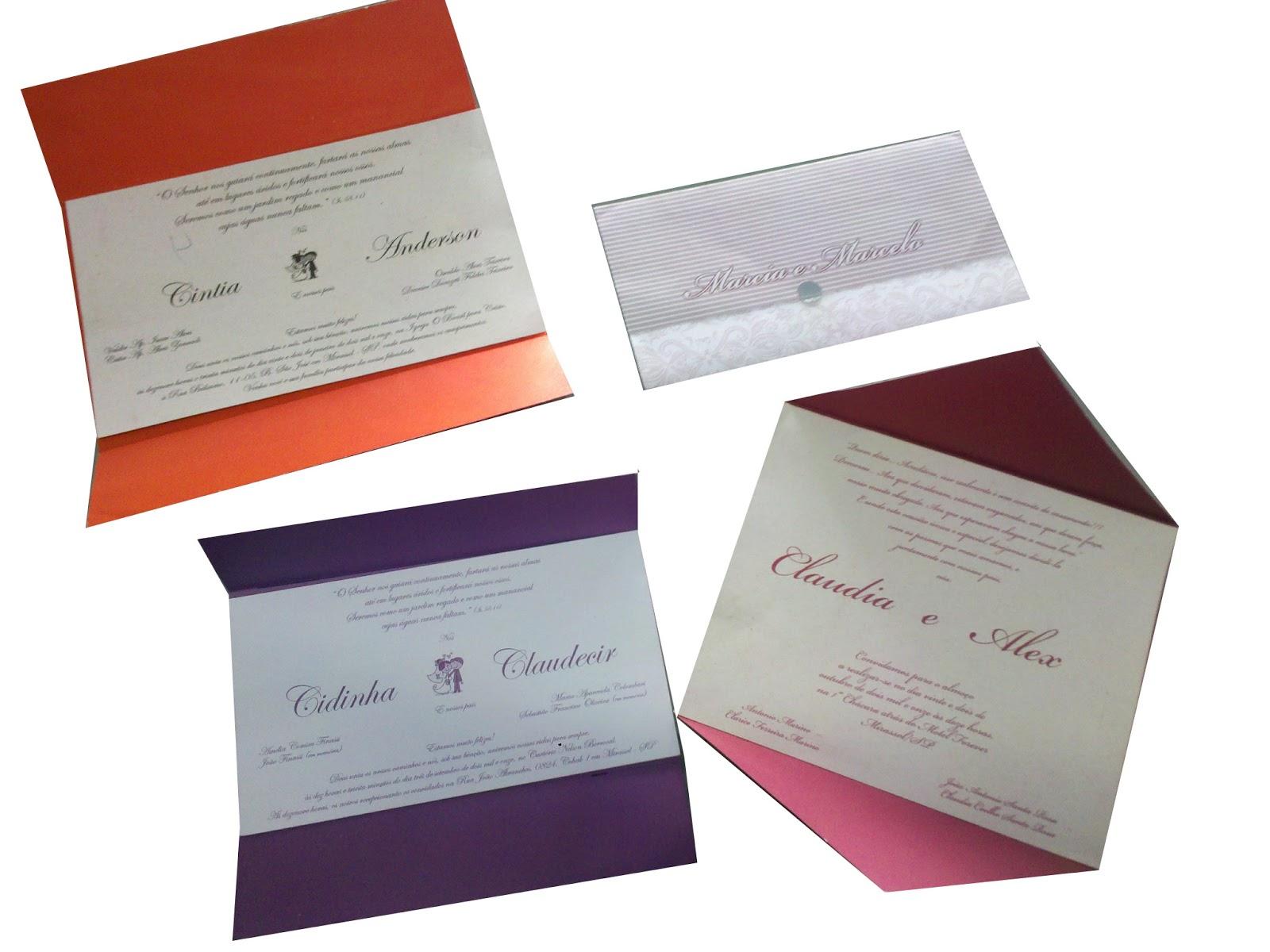 Convites De Casamento Modelos Simples Bonito E Barato Roni Arte