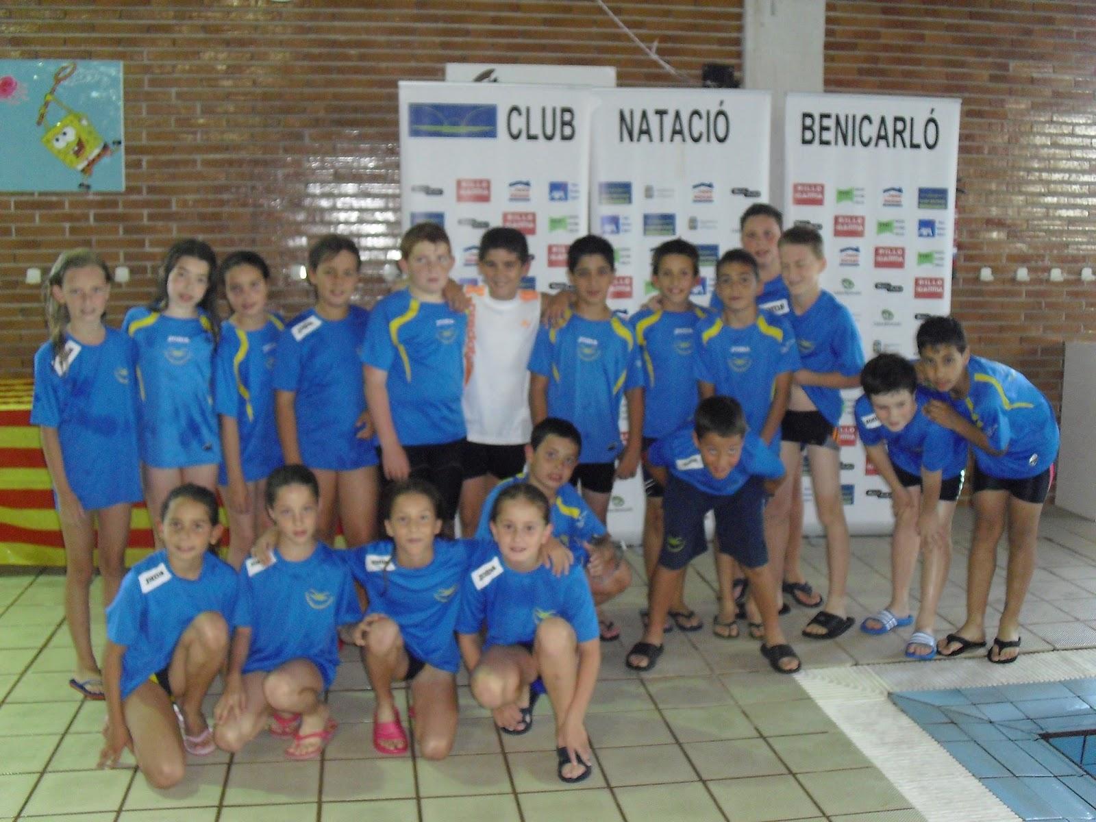 R nquings i actualitat club nataci benicarl campionat for Piscina benicarlo