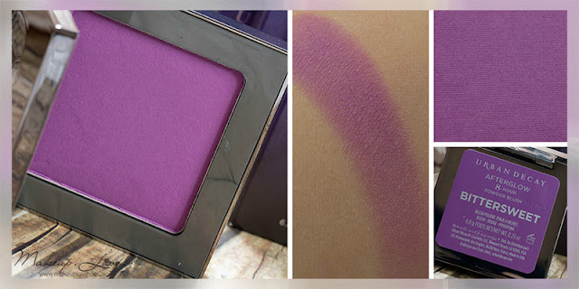 Urban Decay Summer Launches 2015 Afterglow Blushes Bittersweet Swatch