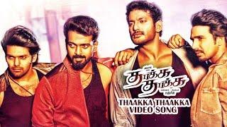 Thaakka Thaakka _ Vishal, Arya, Vishnu Vishal, Vikranth _ New Tamil movie Video Song