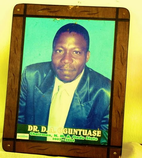 nigerian doctor burnt death