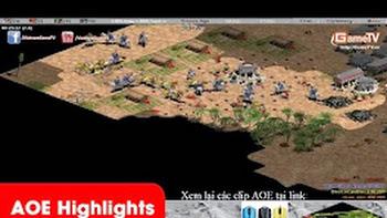 Aoe Highlights - Một trận chém cực kì cống hiến của Gunny và Chim Sẻ Đi Nắng ( BLV Tuấn Tiền Tỉ)