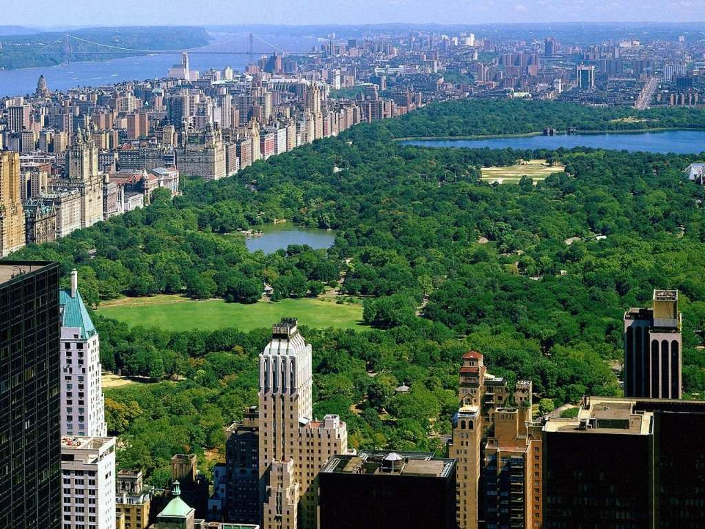 New york central park the most romantic place of new york
