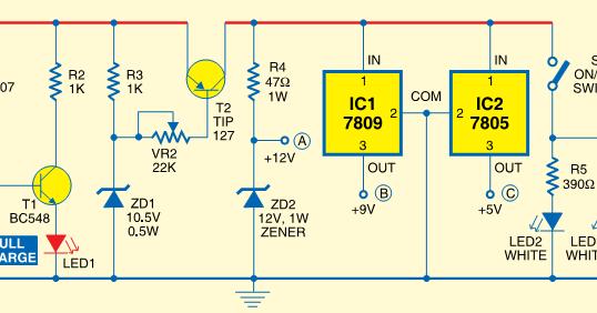 raj's thoughts mini ups system audio amp circuit mini ups system