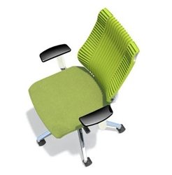 Mayline Living Chair - Overhead View