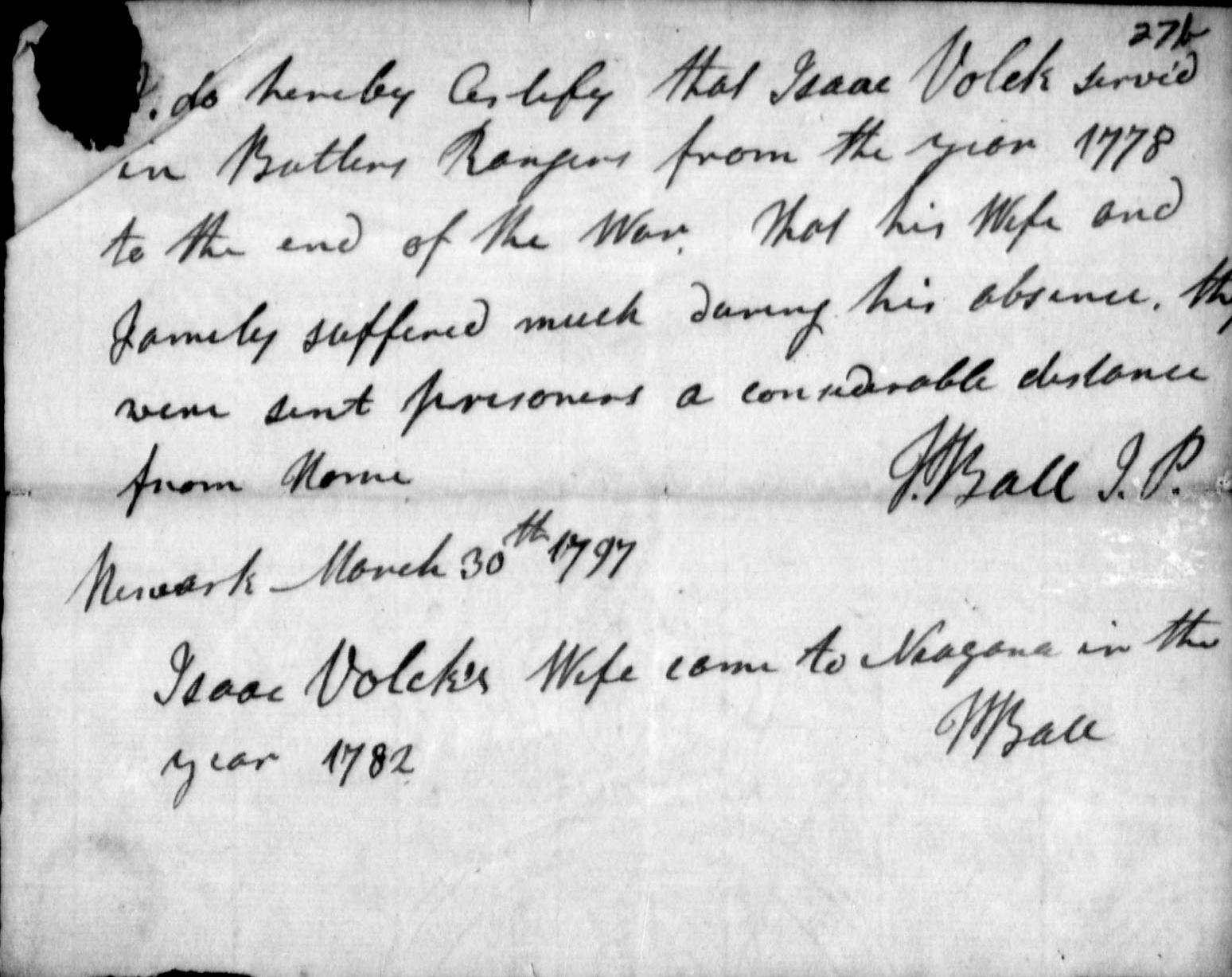 Challenge: 52 Ancestors in 52 Weeks - Isaac Vollick the Loyalist