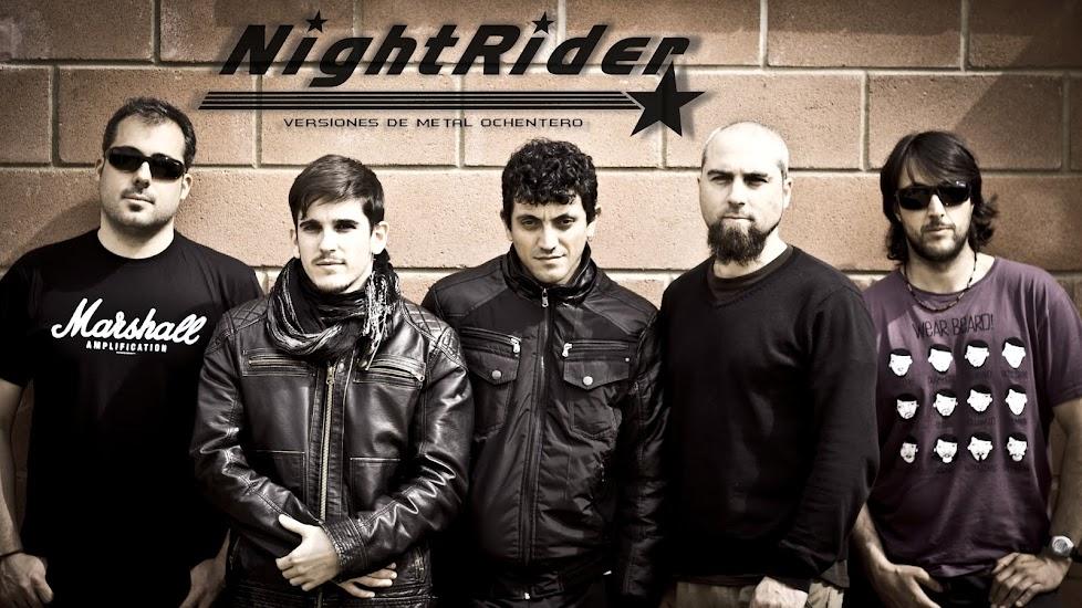 Nightrider versiones de metal ochentero