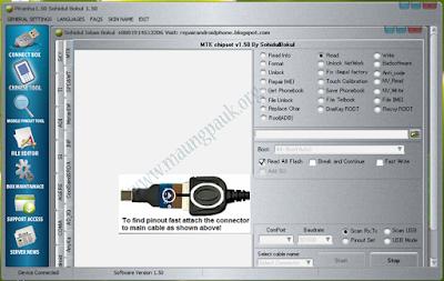 MTK Bin ဖိုင္ နဲ႔လာတဲ့ Firmware ေတြ Flash လုပ္ဖို႔ Piranha Box 1.50