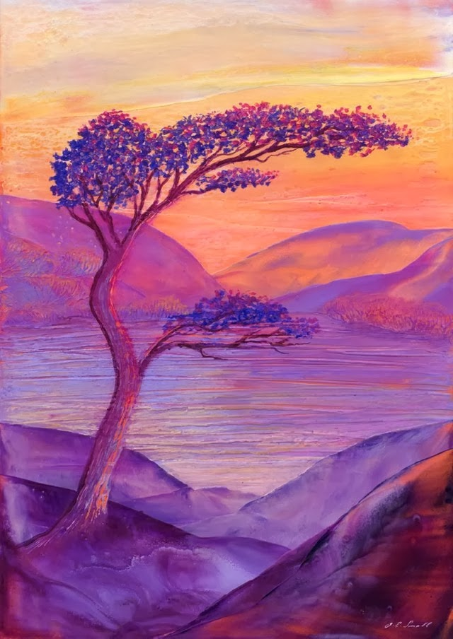Медитативные романтические картины. Jane Small