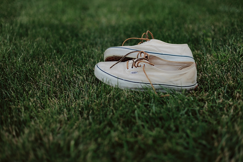 Vans Classic w. leather laces