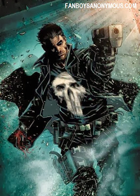 Punisher #1 under Marvel Now banner by Greg Rucka and Marco Checchetto features styles and conventions similar to classic John Woo cinema