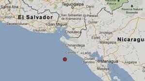 SISMO REMECE A NICARAGUA Y EL SALVADOR, 28 DE MARZO 2014