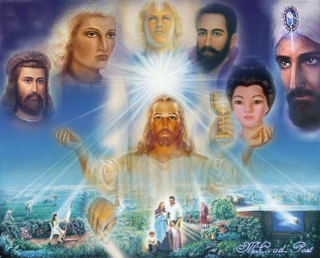 ... Been A Student Of Ascended Masters Teachings From 1978, When Four  Beings In White Robes Appeared In Her Dream And Unrolled Huge Maps Of North  America, ...