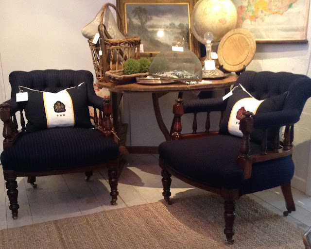 Antique English Gentlemen's Chairs