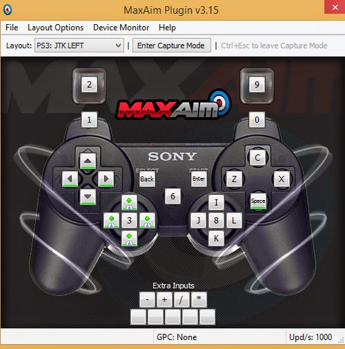 Controller Max Max Aim Plugin for Sony Playstation 3 - Accessible Gaming set-up