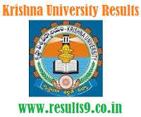 Krishna University UG III Year  Advanced supplementary  Results 2013