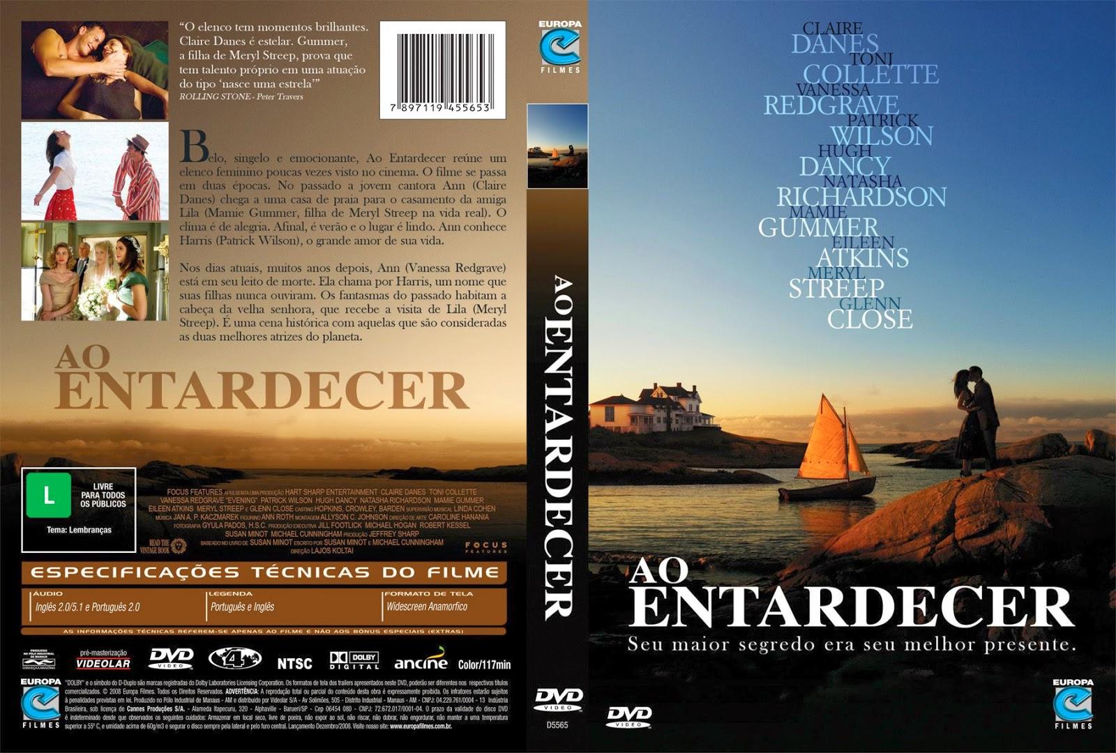 Capa DVD Ao Entardecer