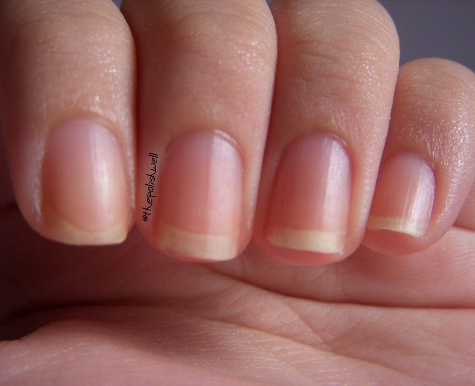 image Yellow nail polish 2
