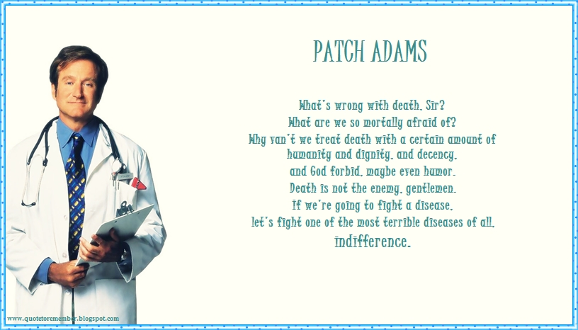 patch adams movie quotes