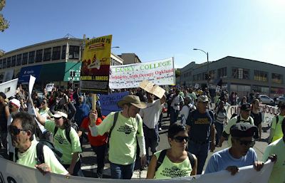 #occupyoakland general strike brings labor, schools into streets