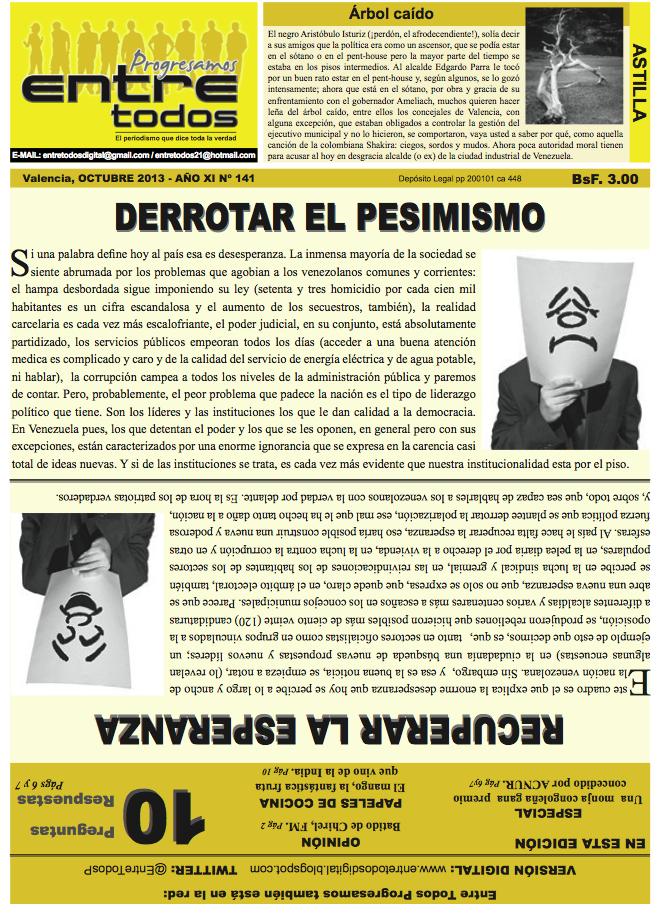 DERROTAR EL PESIMISMO