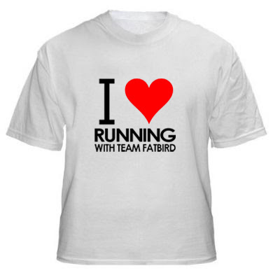TEE-SHIRT – I ? RUNNING WITH TEAM FATBIRD