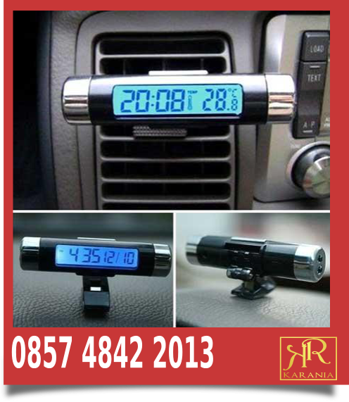 Jam digital mobil kijang grand
