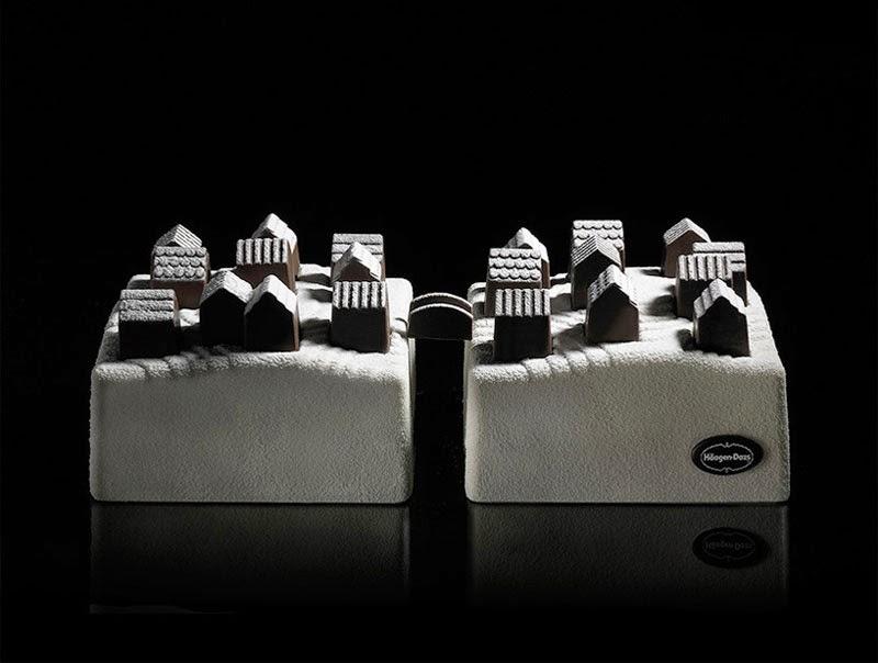 Pastel Village de Nendo para Häagen-Dazs