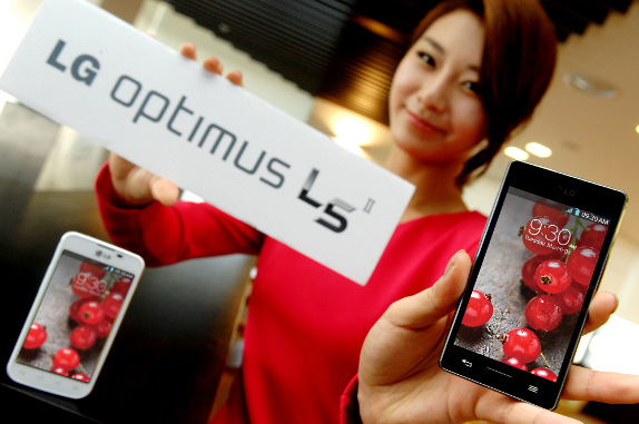 LG launches Optimus L5 II smart phone