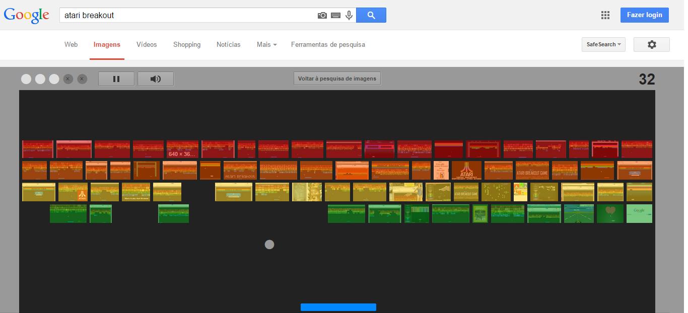Joguinho do Google Imagens