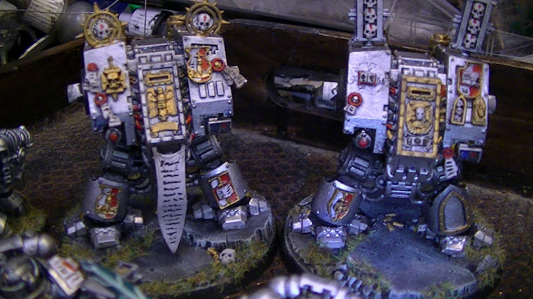 Greyknight Dreadnoughts