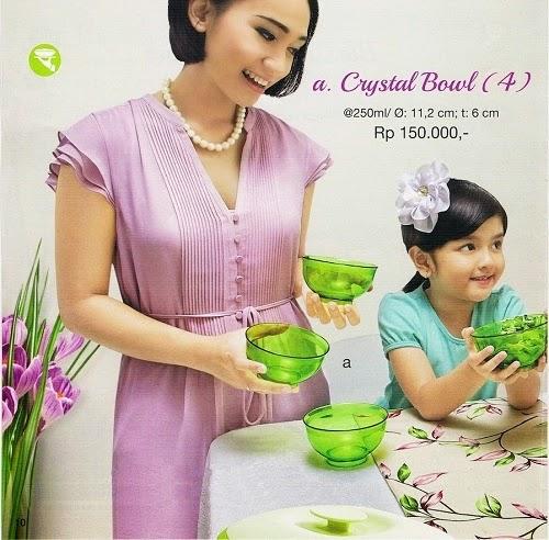 Crystal Bowl Tupperware