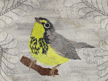 My Thread Painted Warbler