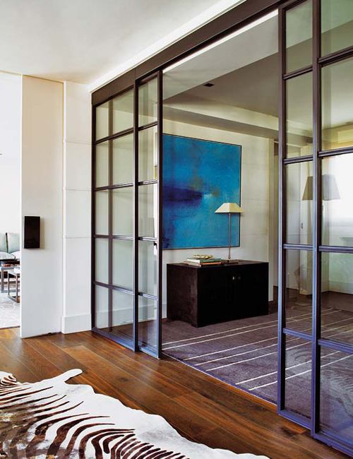Chicdeco blog doors for Black sliding glass doors