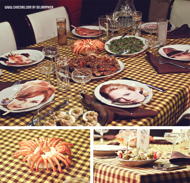 Party Mad men - retro food