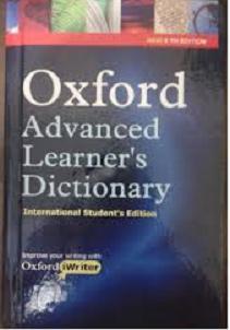 Kamus Oxford Advanced Learner's Dictionary Bekas