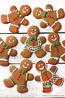 Gingerbread Men - Piernikowe ludzki (bez glutenu)