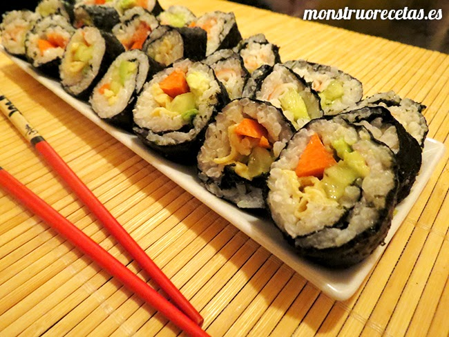 Receta de Sushi...