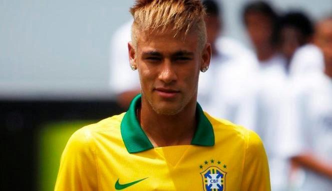 Foto Model Rambut Neymar 2013